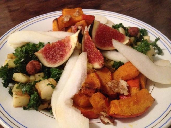 Salade d'Automne - Curcuma Frais