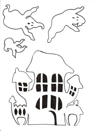 Fantômes et Maison par Doolice