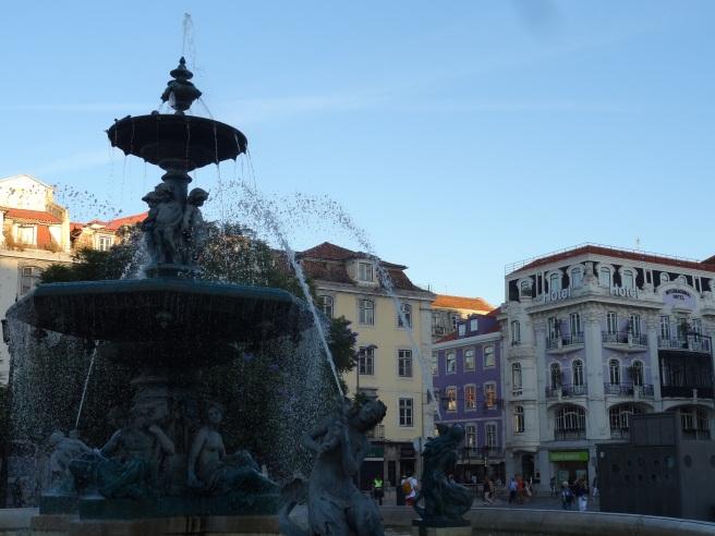 Fontaine de la place Dom Pedro IV
