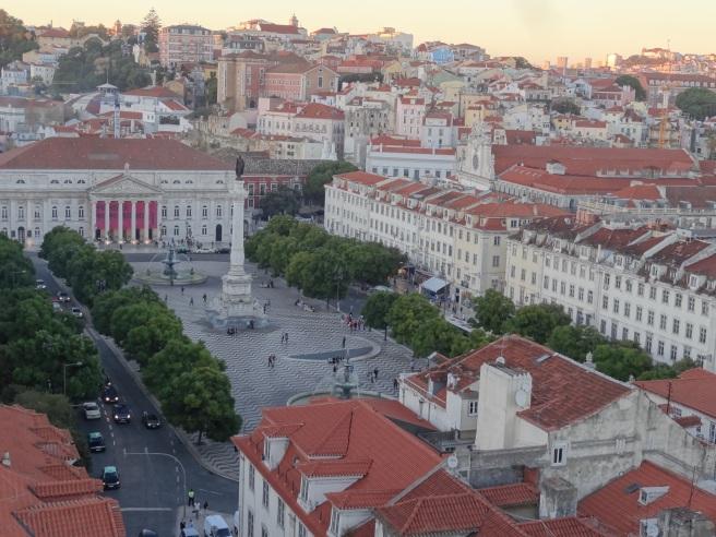 La Place Dom Pedro IV