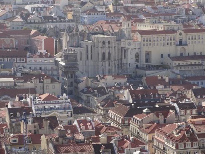 Vue depuis le Château Saint-Georges