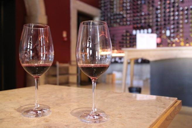 Salle de dégustations de vins portugais