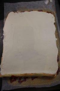 Gâteau roulé et mascarpone monté