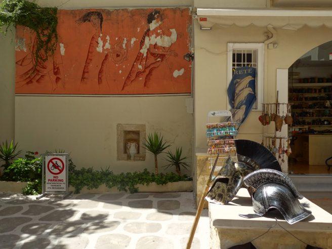 Balade dans les rues de Heraklion